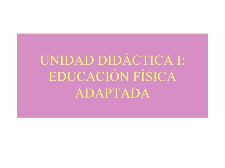 Educacion Fisica Adaptada Educaci n f Sica Adaptada