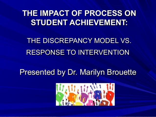 Discrepancy model vs. rti ppt