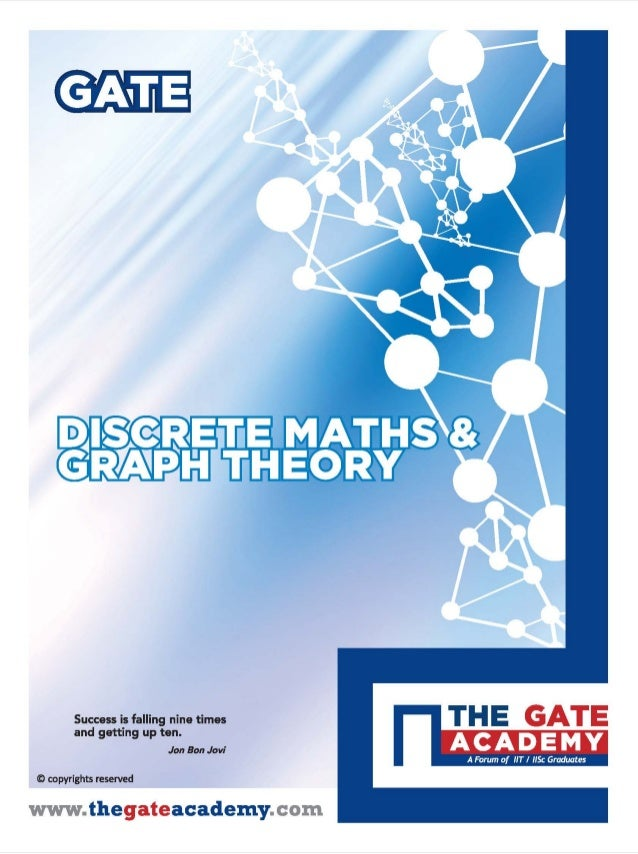 DISCRETE MATHEMATICS & GRAPH THEORY For Computer Science & Information Technology By www.thegateacademy.com