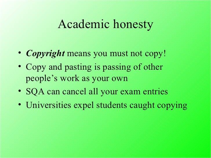 honesty definition essay