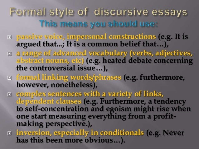 discursive essay topics for high school Good and interesting persuasive essay topics for high school students june 30, 2015 by admin uncategorized when conducting academic research, identifying a topic is essential it is vital for students to have the academic skills to identify areas that they can research on and present a quality report technological.