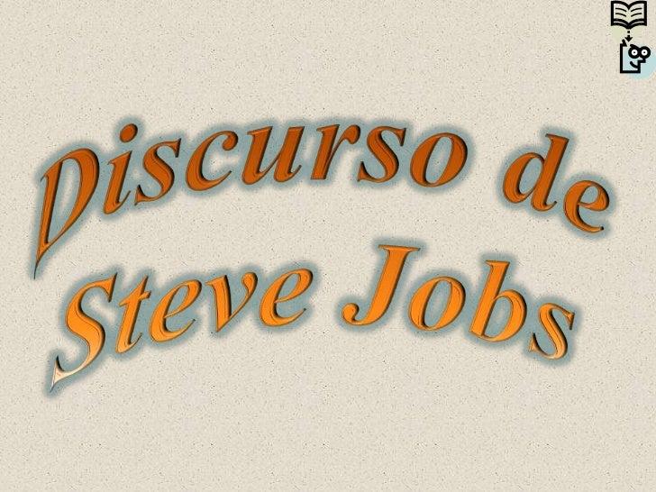 Discurso de Steve Jobs <br />