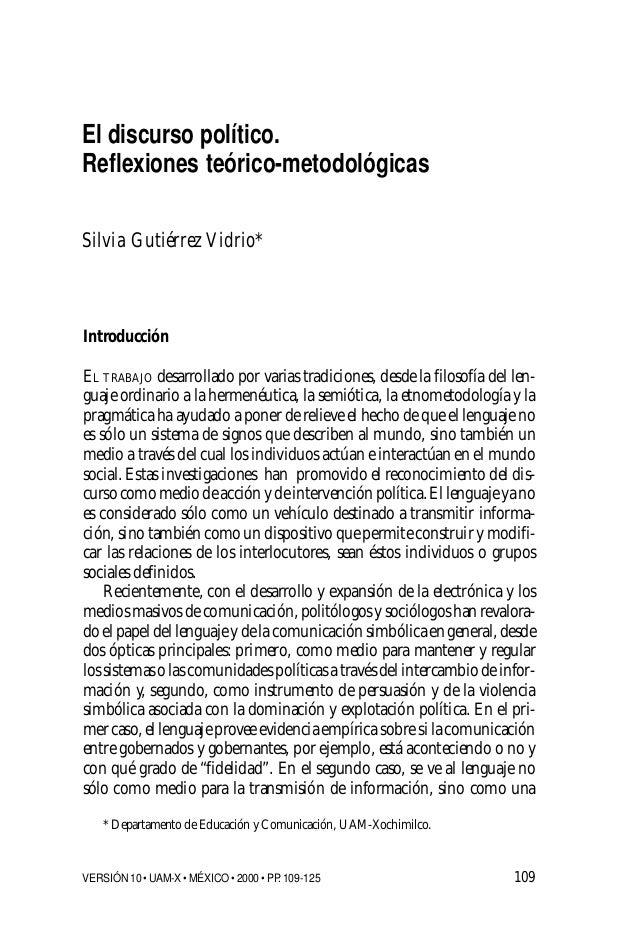 109 Introducción EL TRABAJO desarrollado por varias tradiciones, desde la filosofía del len- guaje ordinario a la hermenéu...