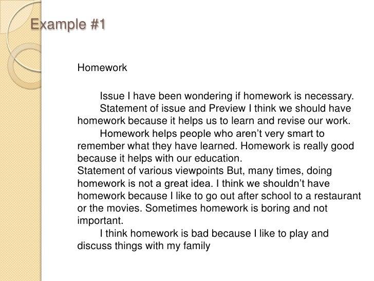 Do we need homework