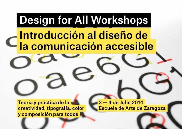 Diseño de la comunicación accesible_programa