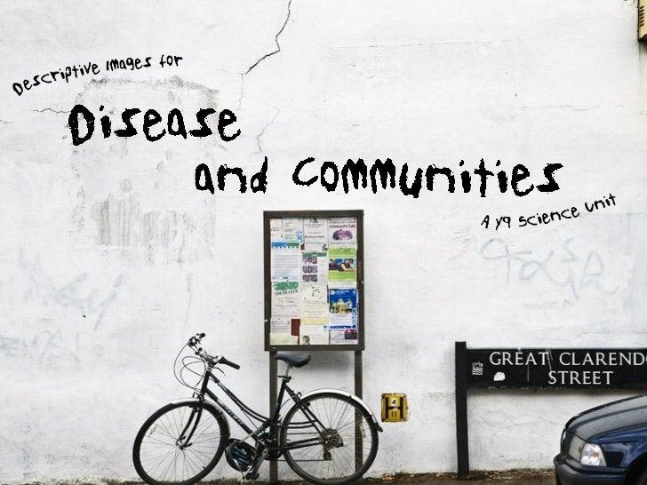 Disease and Communities - PDF