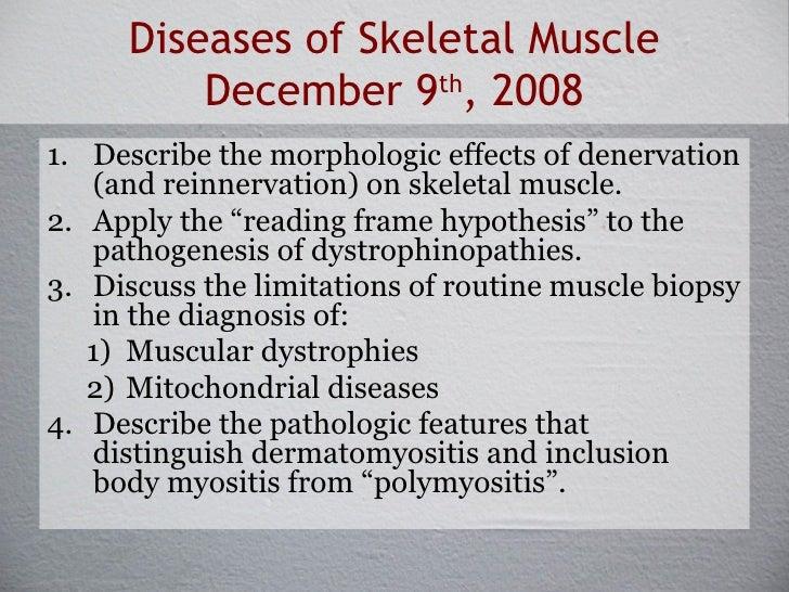 Pathology of Skeletal Muscle