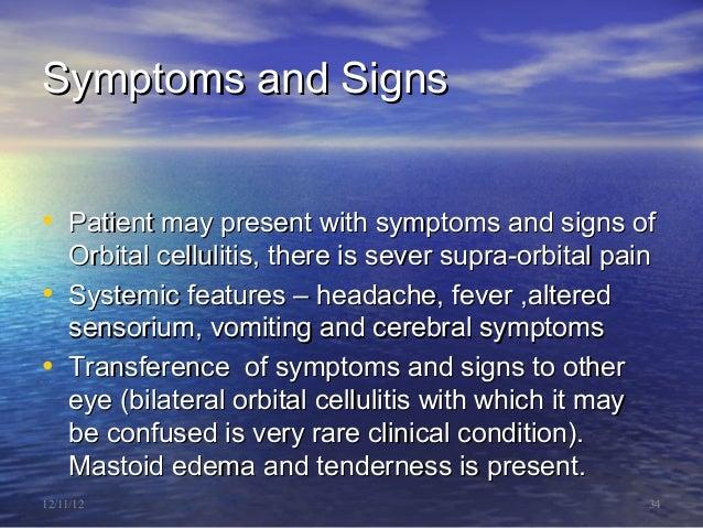 Diseases of the orbit