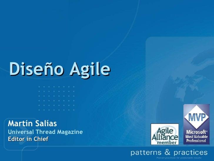 Diseño AgileMartín SalíasUniversal Thread MagazineEditor in Chief