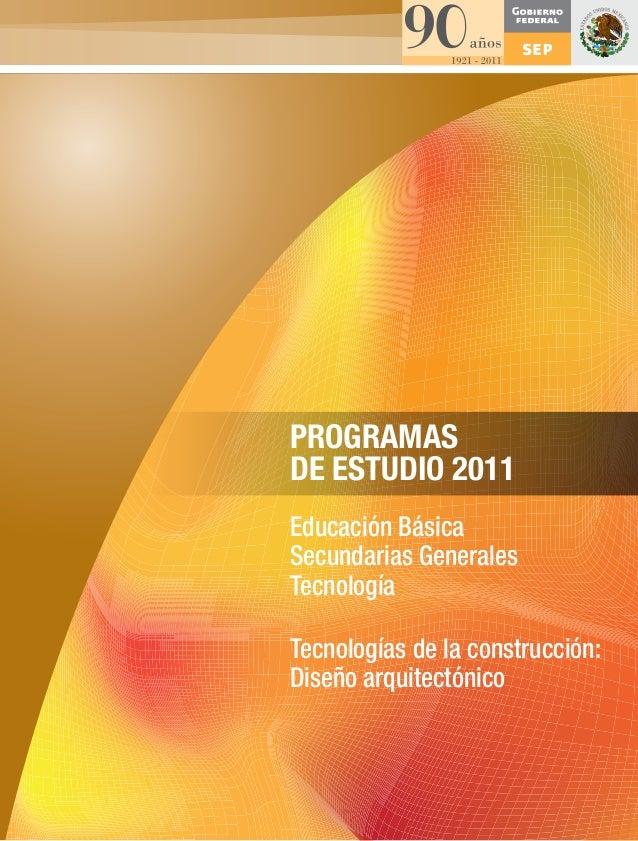 Diseno arquitectonico gen.2011 pdf