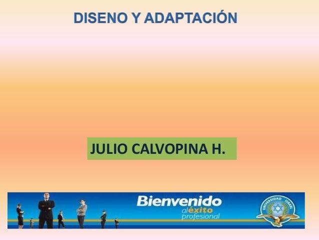 JULIO CALVOPINA H.