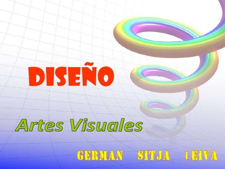 Diseño Artes Visuales German  Sitja  Leiva