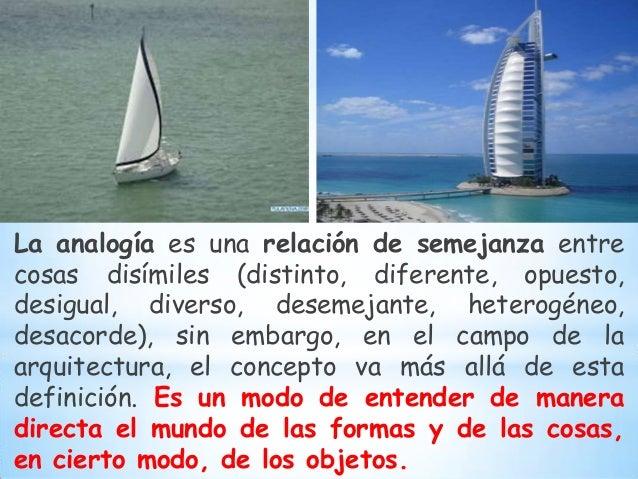 Dise o analogico for El concepto de arquitectura