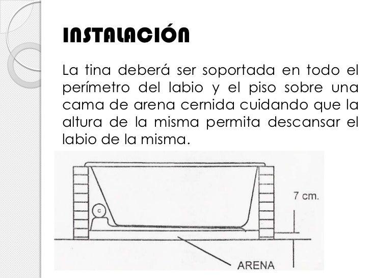 Piso Para Tina De Baño:Diseño básico de red hidráulica en tinas de baño y albercas