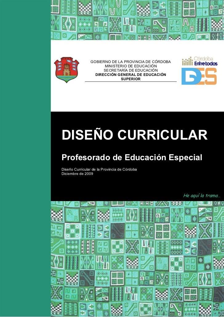 GOBIERNO DE LA PROVINCIA DE CÓRDOBA                      MINISTERIO DE EDUCACIÓN                      SECRETARÍA DE EDUCAC...