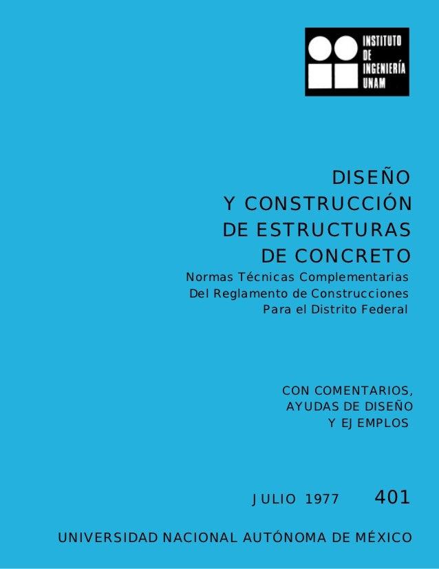 Diseño de estructura de concreto