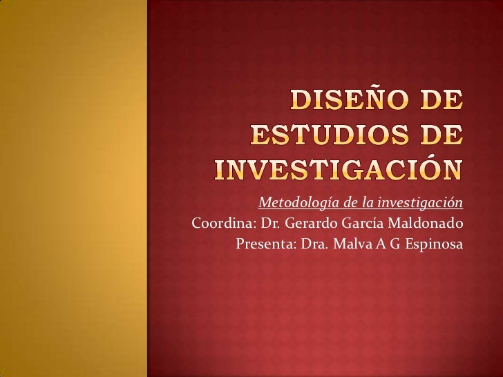 Dise o de estudios de investigaci n for Diseno de interiores estudios
