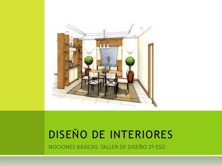 Dise o de interiores for Diseno de interiores online gratis