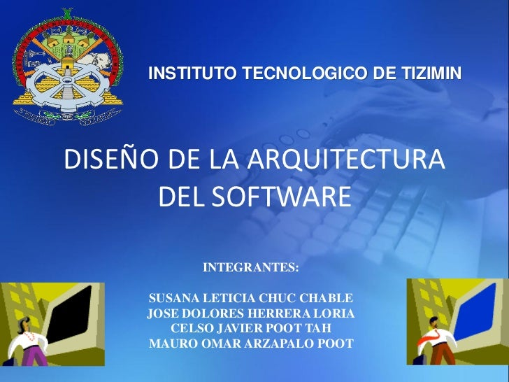 Dise o de la arquitectura del software for Software de diseno arquitectonico