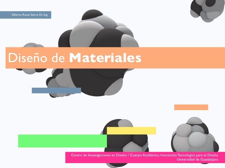 Disenar materiales