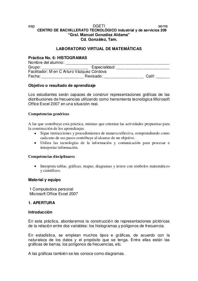 """sep DGETI sems CENTRO DE BACHILLERATO TECNOLÓGICO industrial y de servicios 209 """"Gral. Manuel González Aldama"""" Cd. Gonzále..."""