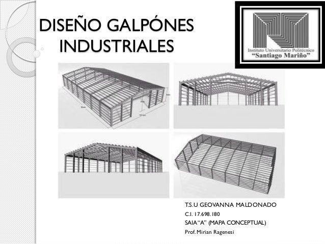 Dise o galp nes industriales mapa conceptual geovanna - Diseno nave industrial ...