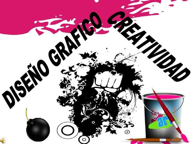 DISEÑO GRAFICO CREATIVIDAD