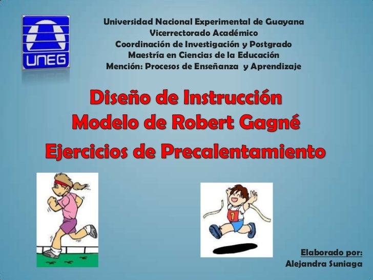 Universidad Nacional Experimental de Guayana          Vicerrectorado Académico  Coordinación de Investigación y Postgrado ...