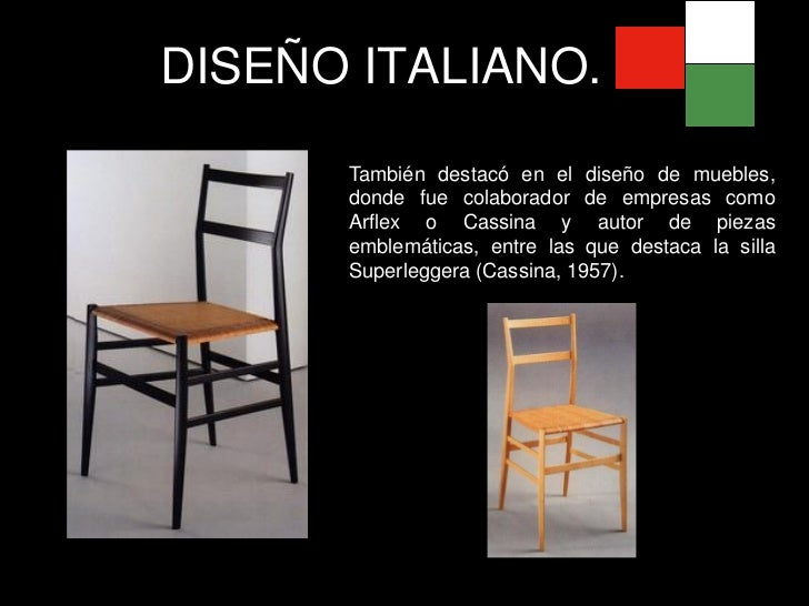 Dise o italiano for Muebles de diseno italiano