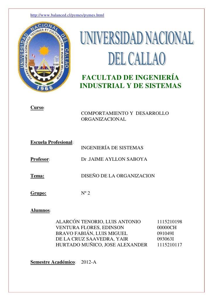 http://www.balanced.cl/pymes/pymes.html                           FACULTAD DE INGENIERÍA                          INDUSTRI...