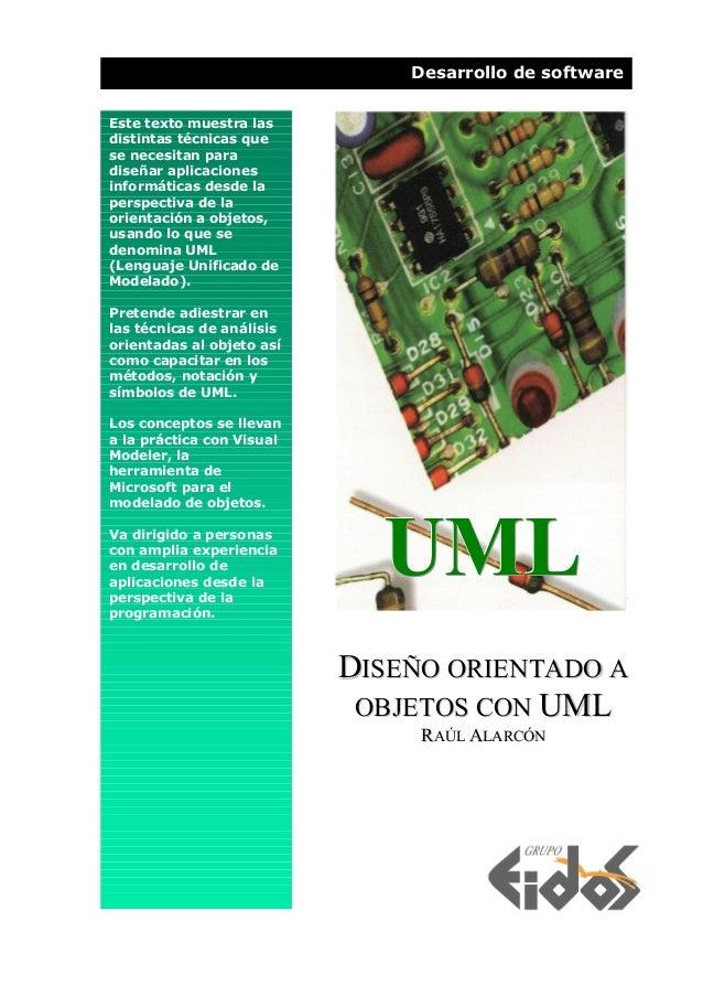 Desarrollo de software Este texto muestra las distintas técnicas que se necesitan para diseñar aplicaciones informáticas d...