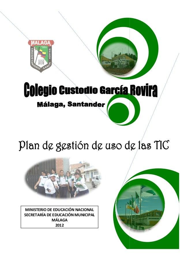 MINISTERIO DE EDUCACIÓN NACIONALSECRETARÍA DE EDUCACIÓN MUNICIPAL             MÁLAGA               2012