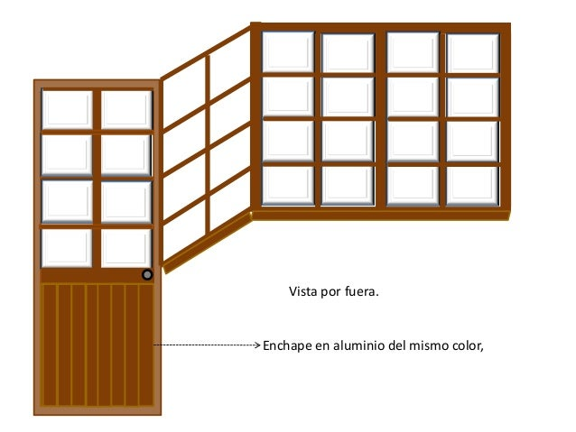 Dise o puerta ventana for Diseno puerta