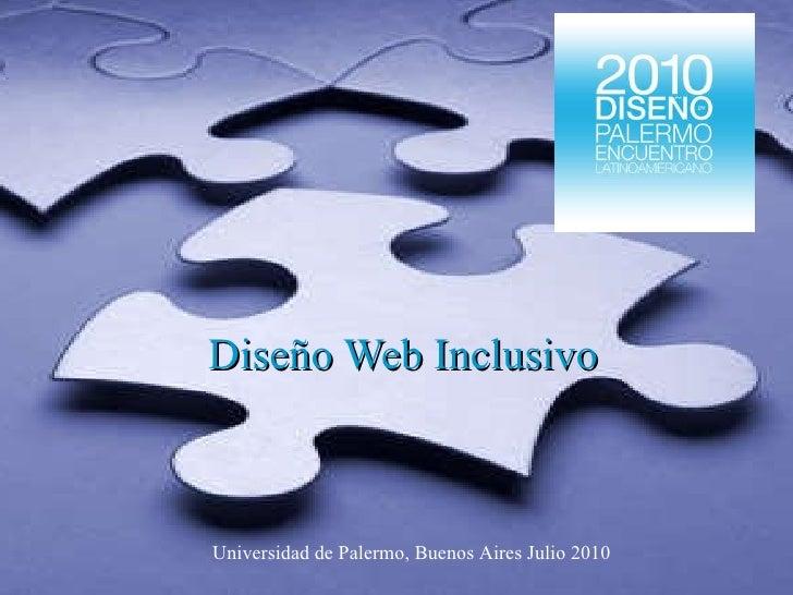 Diseño web inclusivo