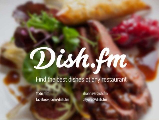 Dish.fm presentation