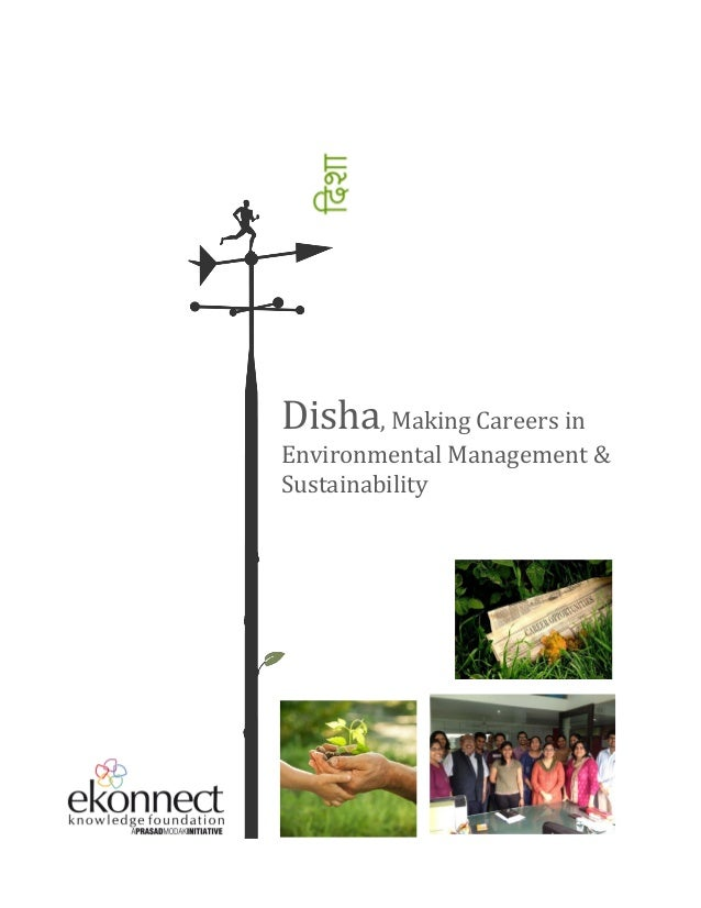 Disha, Making Careers in Environmental Management & Sustainability