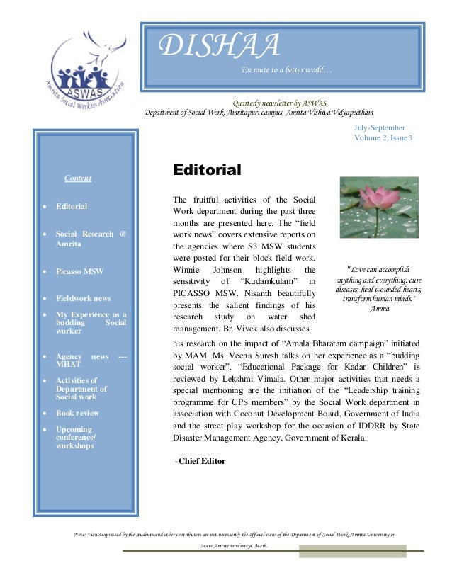 Dishaa Vol 2 Issue 3