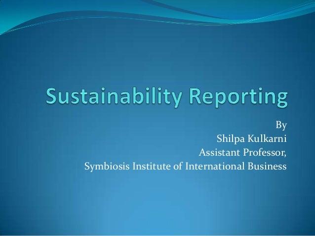 Disha presentation Prof.Kulkarni of SIIB