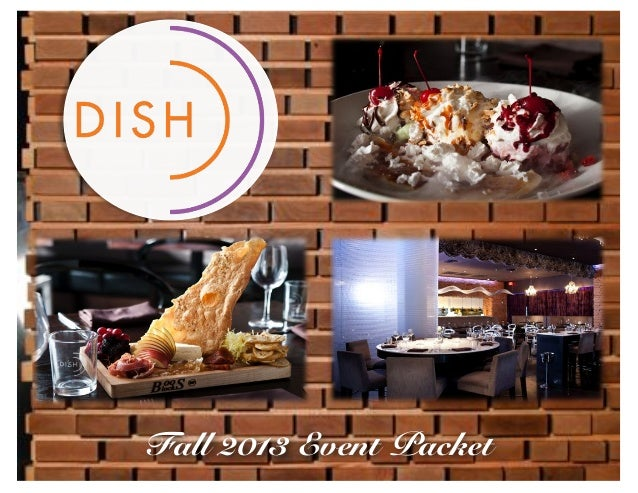Dish Private Event Packet