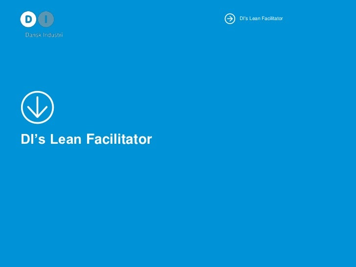 DI's Lean Facilitator