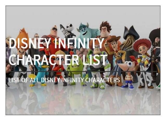 Disney Infinity Character List - All Disney Infinity Figures