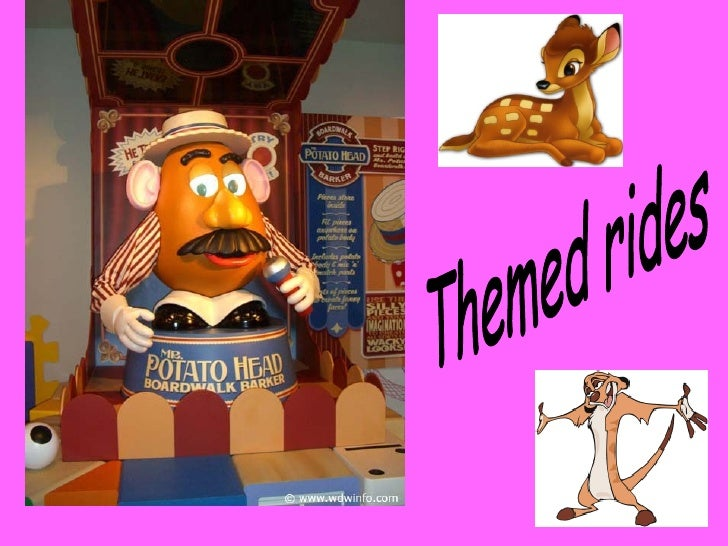 Themed rides