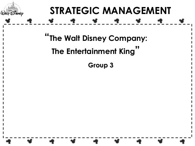walt disney planning function of management Planning in disney it is an primary function of management, which can develop and achieve the goals as is known to all, the disneyland company is a theme park located in california, which was owned and operated by walt disney in the 1930s and 1940s.