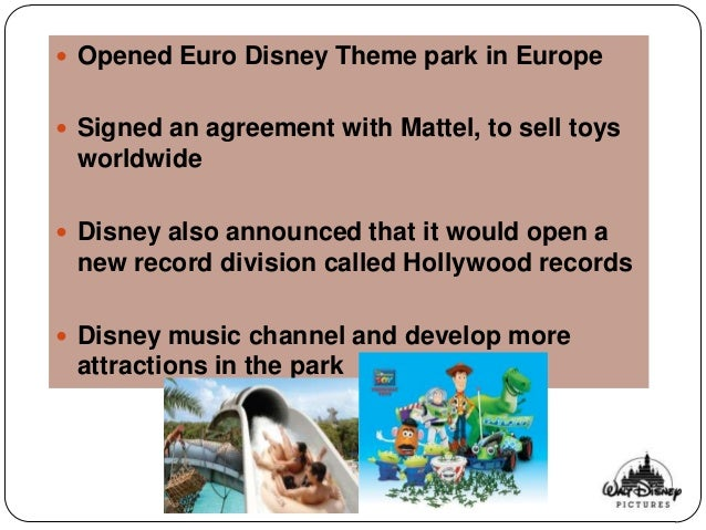 euro disney case 2 essay Disneyland paris, originally euro disney  will invest €2 billion into the disneyland paris resort the walt disney studios park will be expanded with.