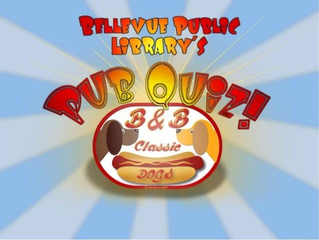 PubQuiz 3-27-14 Disney Theme