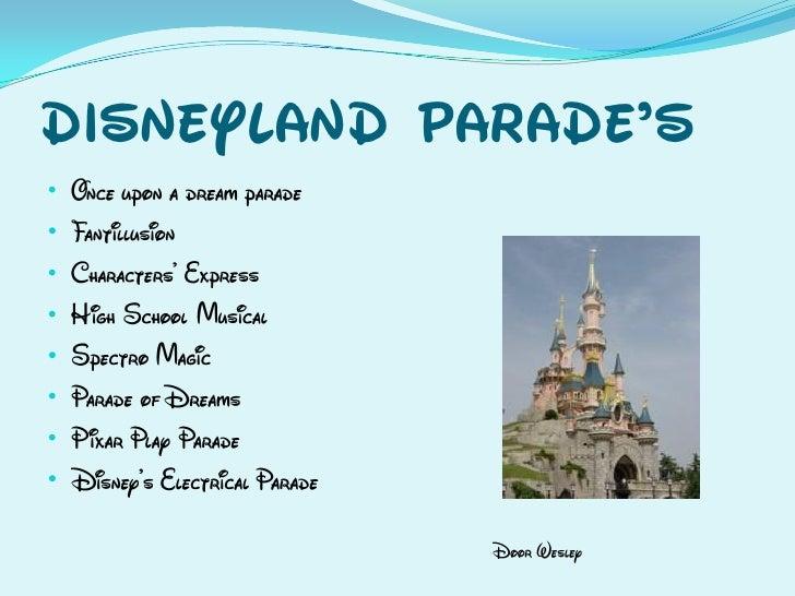 Disneyland Parade's • • • • • • • •