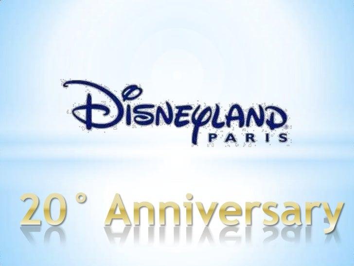 Disneyland paris 20° anniversary