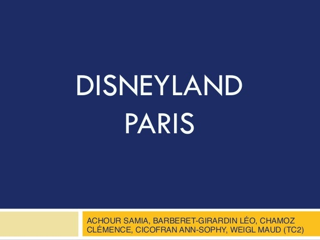 disneyland paris marketing analysis