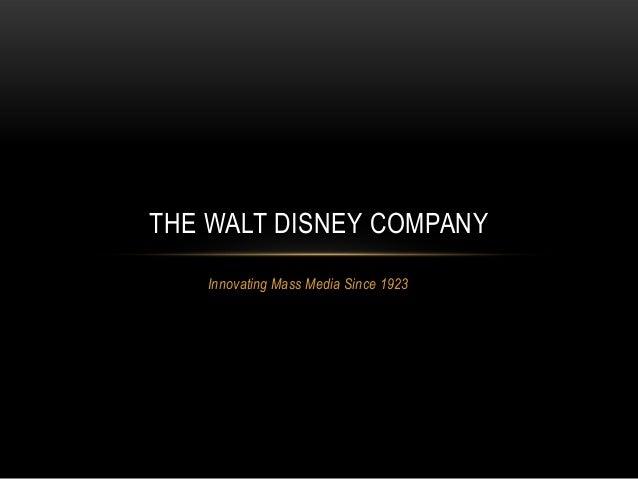 Walt Disney Company Mission Statement Vision, Headquarters And ...