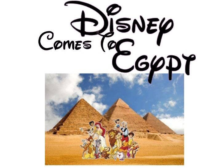 Disney world comes to egypt